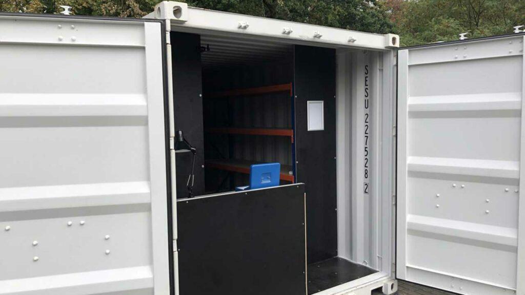 SafeBOX 250 - Gepäckmodul für Messen und Events